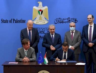 فيتاس فلسطين توقع اتفاقية تعاون مع بنك الإستثمار الأوروبي