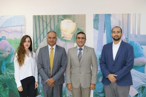 عقد اتحاد شركات الاقراض اجتماعاً مع المدير البنك الدولي السيد كانثان شانكار لمناقسة وضع قطاع التمويل الأصغر في فلسطين و اولوياته و التحديات التي يواجهها