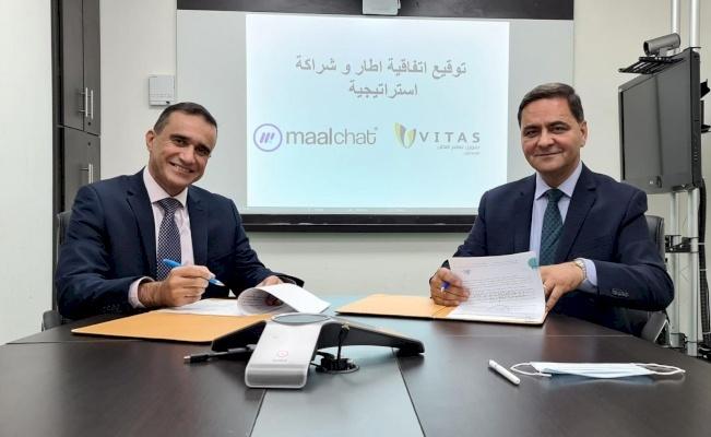 شركة فيتاس فلسطين للاقراض والخدمات المالية وشركة مالتشات لخدمات الدفع الالكتروني توقعان اتفاقية اطار وشراكة استراتيجية